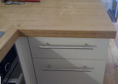 Küche weiß 44